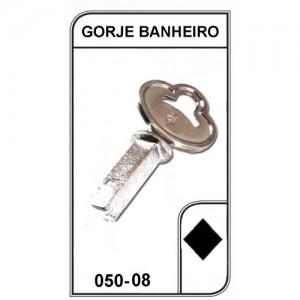 Chave Gorje Banheiro - 050-08 - PACOTE COM 5 UNIDADES