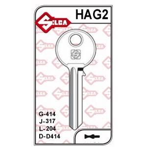 Chave Yale Haga G 414 - HAG2 - PACOTE COM5 UNIDADES