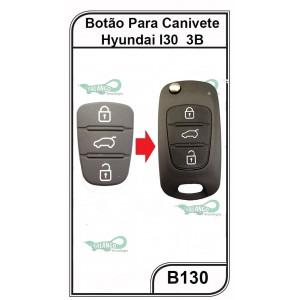 Botão para Canivete Hyundai I30 3 Botões - B130