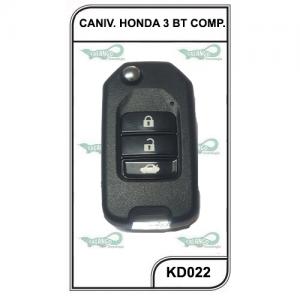 CANIVETE KD HONDA 3  BOTOES COMP. - KD022