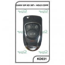 CANIVETE  GM KD 3 BT+HOLD COMP. - KD031