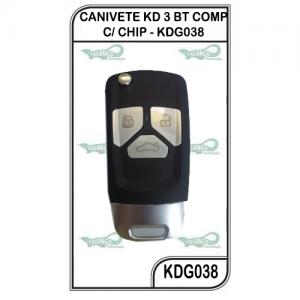 CANIVETE KD 3 BT COMP C/ CHIP - KDG038