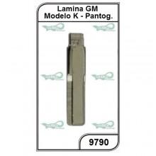 Lâmina GM Chevrolet Modelo K Vectra, Omega, Suprema, Agile e Montana - 9790