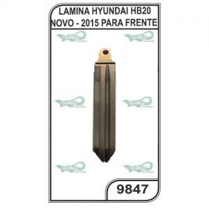 LAMINA HYUNDAI HB20 NOVO - 2015 PARA FRENTE.
