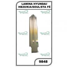 LAMINA HYUNDAI/HB20/KIA/SOUL/STA FÉ  - 9848