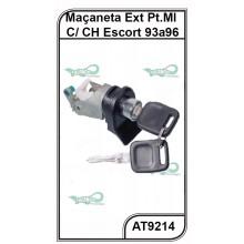 Maçaneta Externa Ford Escort 93 a 96 Verona - Porta Malas C/Chave - AT9214