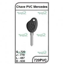 Chave Caminhão PVC Mercedes Bens G 720 - 720PVC