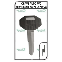 CHAVE AUTO PVC MITSUBISHI G 872 - 872PVC - PACOTE COM 5 UNIDADES