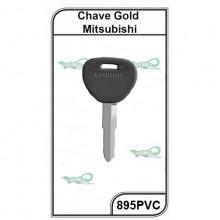 Chave Auto PVC Mitsubishi G 895 - 895PVC