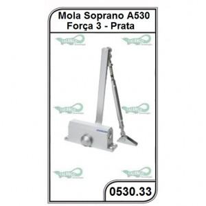Mola Hidraulica Soprano Força 3 A530 F3 0222 Prata - 0530.33
