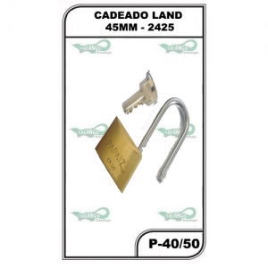 CADEADO PAPAIZ CR 40/50 - P-40/50 CT