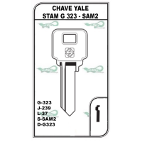 CHAVE YALE STAM G 323 - SAM2 (10U)