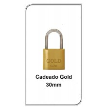Cadeado Gold 30mm  G-30mm