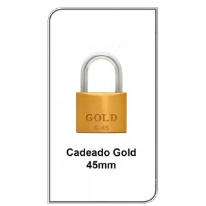 Cadeado Gold 45mm  G-45mm