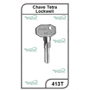 Chave Tetra Lockwell G 413 - 413T