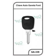 Chave Gaveta Ford Fiesta GII até 2014 02 Frisos - GA-339