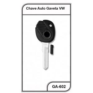 Chave Gaveta VW Gol, Parati, Saveiro Oca - GA-602