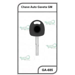 Chave Gaveta GM Omega e Vectra Pantografica - GA-685