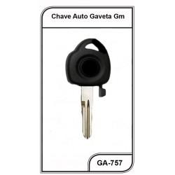 Chave Gaveta GM Celta/Prisma 0611G - GA-757